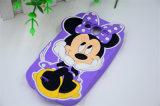 3D Leuke Geval van de Telefoon van het Silicone van de Muis Minnie Dierlijke Zachte voor iPhone 6 (xsd-060)