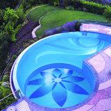 Het populaire Kleurrijke Mozaïek van het Glas voor Zwembad (utxg001)