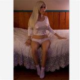 Realistische hochwertige blonde Dame Seductive Love Doll (148cm)