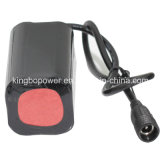 6400mAh 18650 8.4V Rechargeable Li-IonenBattery voor Bike Light