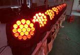 L'indicatore luminoso capo mobile chiaro DJ della discoteca il LED RGBW 12W di prezzi di Factoory si illumina