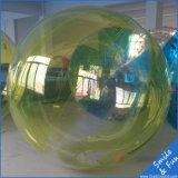 Het Lopen van het water de Bal van het Stuk speelgoed van de Bal met TPU0.8mm en de Ritssluiting van Duitsland Tizip van 2m Diameter voor 1-2 Personen