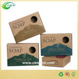 Цветастое мыло и коробка свечки упаковывая с бумагой Kraft или белой карточкой (CKT - CB-268)
