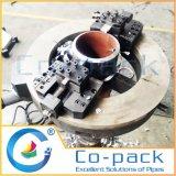 Découpage de pipe de tube d'acier inoxydable et machine chanfreinante