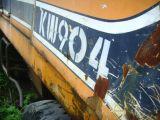 Excavador usado de Kobelco Sk04WD, excavador de la rueda de Kobelco