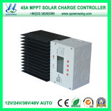 Controlador do carregador do sistema solar de MPPT 45A 12/24/36/48V (QW-MT4845A)
