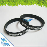 Wristband su ordinazione del silicone di Debossed per la promozione