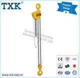 500kg 360 au CE GS du bloc 3ton à chaînes (grue à chaînes manuelle)