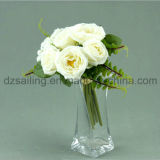 Декоративный искусственний цветок королевского букета Rose (SF11684B/7)