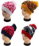 Knit руки причудливый пряжи Knit конструкции OEM Beanie шлема ведра нового взрослый