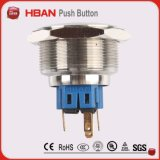 Cer UL ISO9001 Anti Vandal Waterproof Pushbutton Switch mit Power Symbol