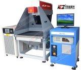 máquina de la marca del laser 280W que trabaja en el cuero/el papel