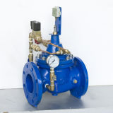 Válvula de controle usada do fluxo do ferro água Ductile