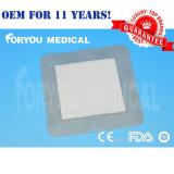 Espuma silicón AG que se viste con la separación Sfd1001A de FDA510k