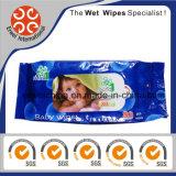 Fabbrica bagnata dei Wipes del bambino dell'OEM