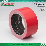 Starkes anhaftendes rotes Band-einseitiges Band der Leitung-Sh318 für Karton-Verpackung oder Verpackung Somitape