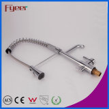 Fyeer Pull out Spray Kitchen Faucet con Water Flow Filter Tap