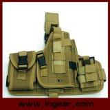 Кобура воинской тактической компонентной кобуры пистолета ноги падения Molle комбинированная