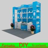 Модульная стойка торговой выставки будочки выставки DIY портативная