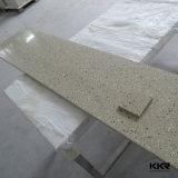 Feuille extérieure solide acrylique pure de marbre en pierre artificielle