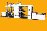Machine d'impression de Flexo de 4 couleurs pour le roulis 33GSM de cuvette de Ppaer