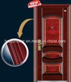 Stahlsicherheits-Außenmetalltür China-Yongkang mit Qualität