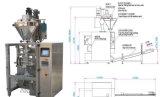 Etiquetado semiautomático de la máquina de rellenar de bolso de polvo