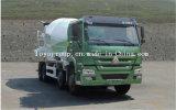 Camion de mélangeur concret de mètres cubes de camion du mélangeur HOWO6*4 concret