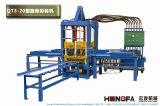 Hydraulische Straßenbetoniermaschine-Kleber-Block-Formteil-Maschine für Ziegelstein-Gerät