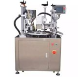 Máquina de enchimento da selagem da Semi-Auto câmara de ar ultra-sônica (TFS-006)