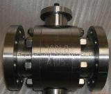 Valvola a sfera forgiata ad alta pressione del perno di articolazione (Q47)
