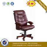 Классицистический самомоднейший мягкий кожаный стул офиса (NS-928)