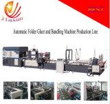 Dépliant automatique Gluer et machine d'agrafeuse (JHXDX-2800)