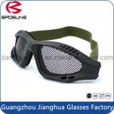 Obiettivo balistico del fumo del policarbonato del blocco per grafici degli occhiali di protezione TPU di Tectical di vetro militari di sport esterno per l'occhio dell'esercito della fucilazione protettivo