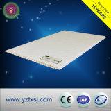 Panneau de plafond matériel de PVC de décoration à la maison blanche pure plate