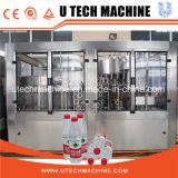Precio en botella 3 in-1 automático de la embotelladora de agua mineral