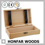 Самомоднейшая коробка коробки подарка древесины сосенки упаковывая для выдвиженческого подарка