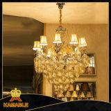 Iluminação de cristal de suspensão da entrada do hotel (ka241)