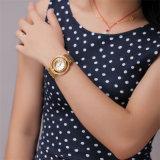 Do bracelete selvagem creativo do Dobro-Disco do diamante da forma do relógio de Belbi relógio simples de quartzo