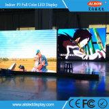 Innen-LED Videodarstellung der farbenreichen HD P3 örtlich festgelegten Installations-