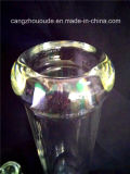 Narguilé de fumage en verre Shisha de conduite d'eau de seul modèle de qualité