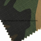 I militari elastici della tela di canapa dello Spandex del cotone a prova di fuoco cammuffano il tessuto per i vestiti del camuffamento