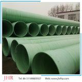 Tubo de desagüe del tubo de la irrigación del diámetro grande de la fibra de vidrio