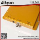 2017 Beste Verkopend GSM DCS de Spanningsverhoger van het Signaal 2100MHz 2g/3G/4G van WCDMA 900 1800