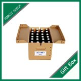 Un solo pared corrugado Papel Beer Box Paquete