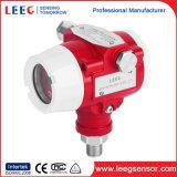 0.075% transmissores de pressão do petróleo da exatidão elevada com indicador do LCD