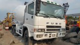 Camion mescolantesi concreto di Japan_Original 2007year_Fuso 8m3_Rustless_Drum (6D24ENGINE)