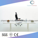 금속 프레임 백색 색깔 우아한 사무실 행정상 테이블