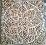 telha de revestimento cerâmica 400X400mm da telha do jardim do Inkjet 3D