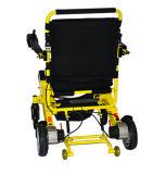 Fáciles ligeros Handicapped llevan el sillón de ruedas plegable de la potencia con la batería de litio
